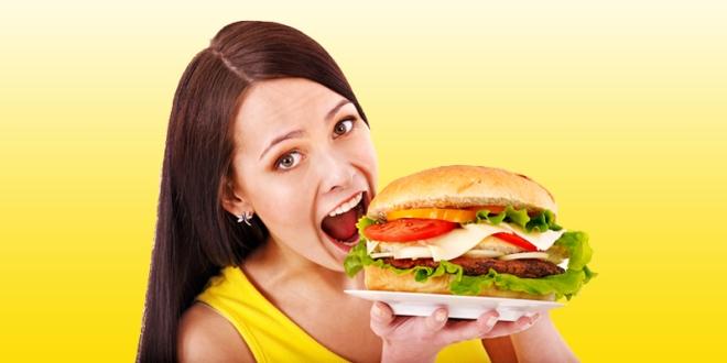 Woman-Big-Burger